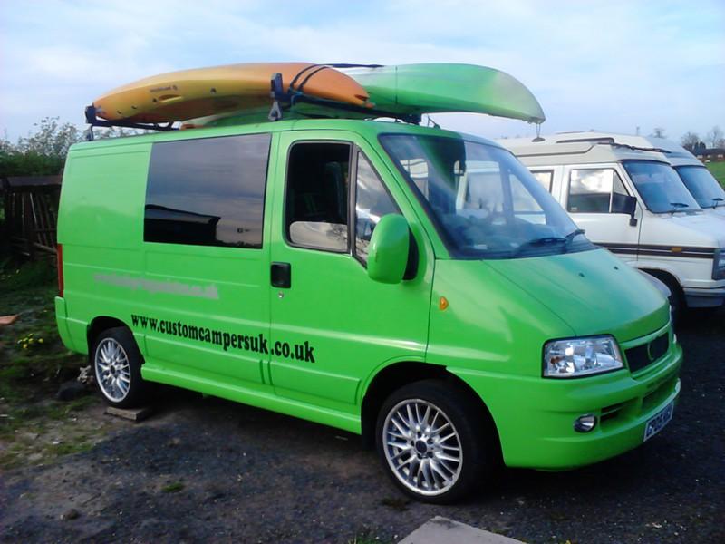 Custom Campers UK - My Ducato Van